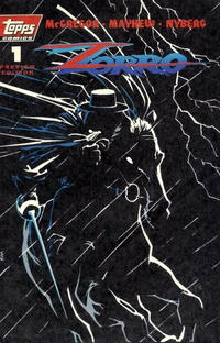 Cover Thumbnail for Zorro #1 Preview Edition (Topps, 1993 series)