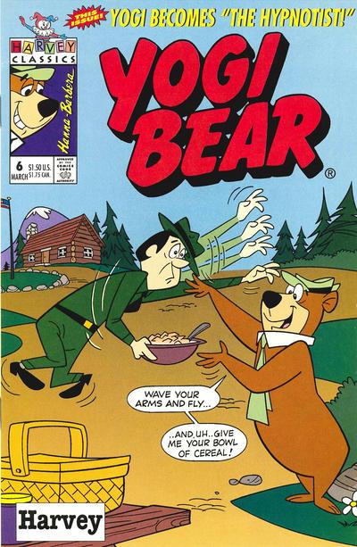 Cover for Yogi Bear (Harvey, 1992 series) #6