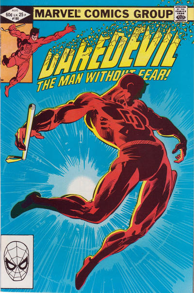 Cover for Daredevil (Marvel, 1964 series) #185 [Direct Edition]