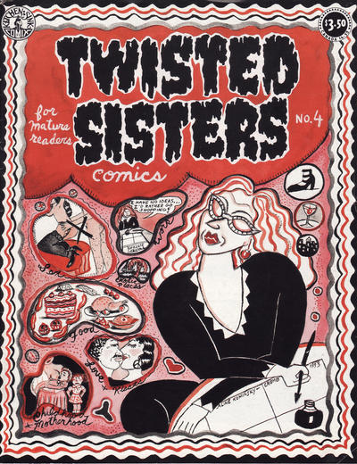 Cover for Twisted Sisters (Kitchen Sink Press, 1994 series) #4
