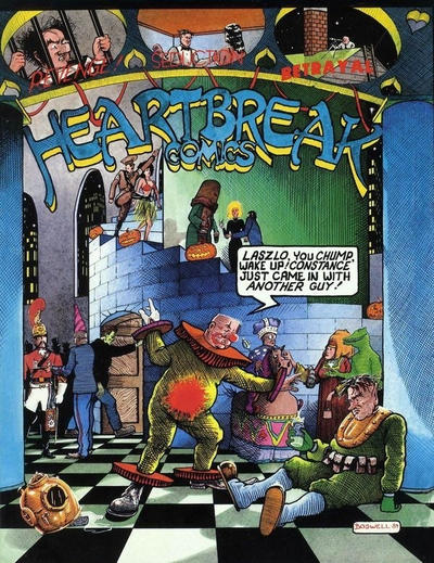 Cover for Heartbreak Comics (Eclipse, 1988 series)