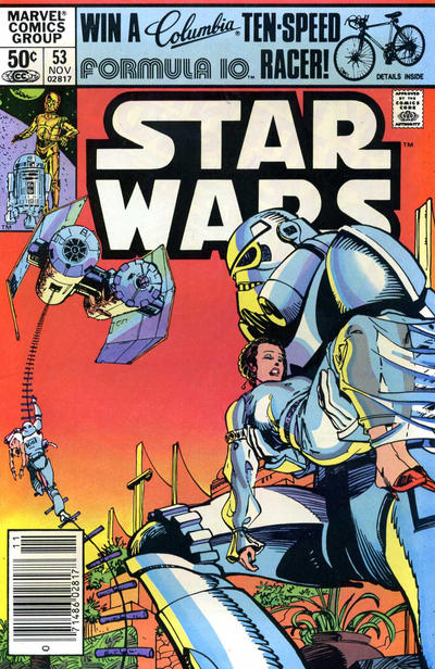 Cover for Star Wars (Marvel, 1977 series) #53 [Direct]