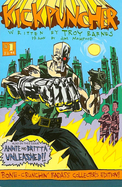 Cover for Kickpuncher (Sony Publishing, 2010 series) #1