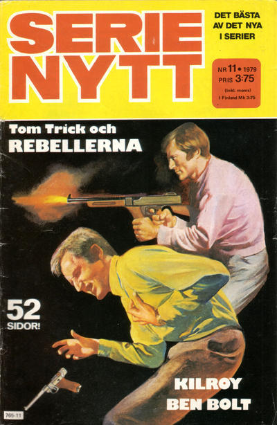 Cover for Serie-nytt [delas?] (Semic, 1970 series) #11/1979
