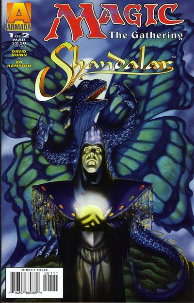 Cover for Magic: The Gathering -- Shandalar (Acclaim / Valiant, 1996 series) #1