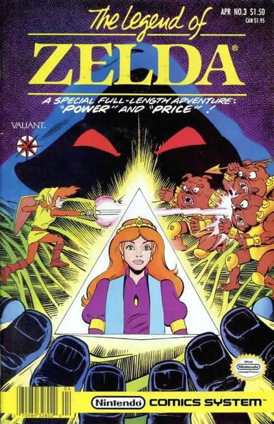 Cover for The Legend of Zelda (Acclaim / Valiant, 1991 series) #3