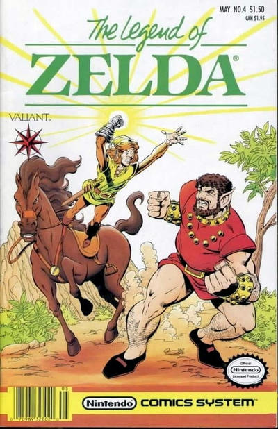 Cover for The Legend of Zelda (Acclaim / Valiant, 1991 series) #4