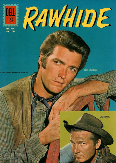 Cover for Four Color (Dell, 1942 series) #1261 - Rawhide