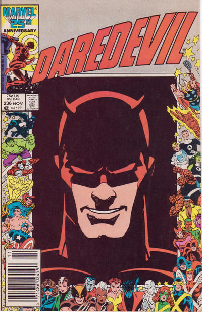 Cover for Daredevil (Marvel, 1964 series) #236 [Direct Edition]