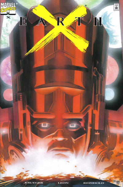 Cover for Earth X (Marvel, 1999 series) #X [Dynamic Forces Chromium Variant]