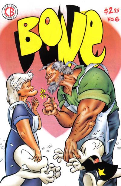 Cover for Bone (Cartoon Books, 1991 series) #6