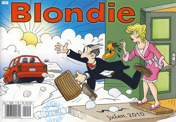Cover for Blondie (Hjemmet / Egmont, 1941 series) #2010