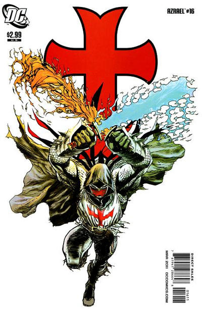 Cover for Azrael (DC, 2009 series) #16