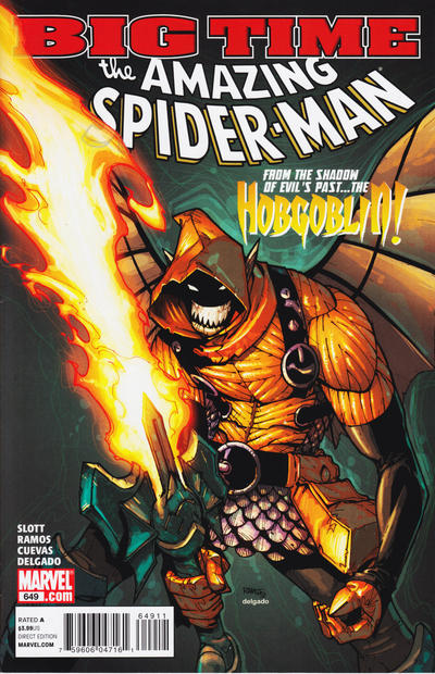 Cover for The Amazing Spider-Man (Marvel, 1999 series) #649