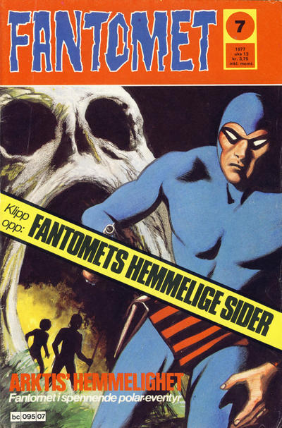 Cover for Fantomet (Semic, 1976 series) #7/1977