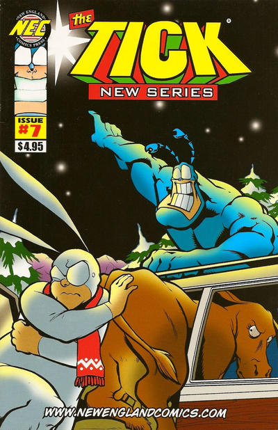 Cover for The Tick New Series (New England Comics, 2009 series) #7