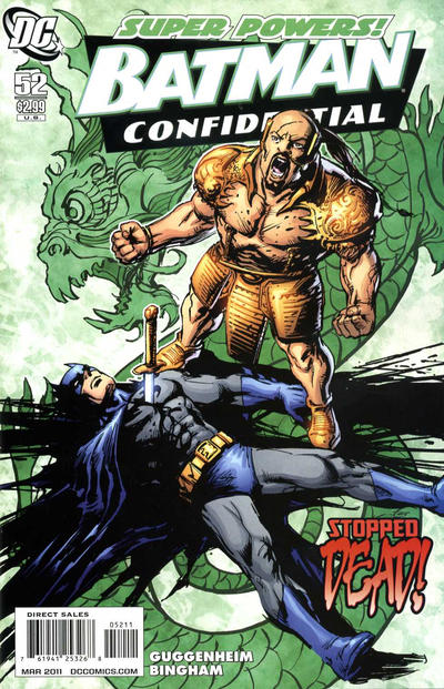 Cover for Batman Confidential (DC, 2007 series) #52