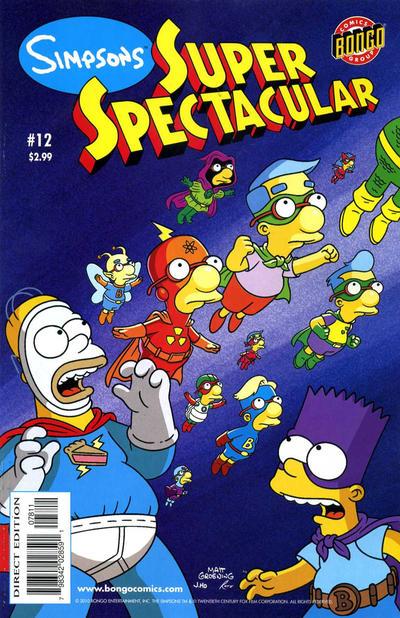 Cover for Bongo Comics Presents Simpsons Super Spectacular (Bongo, 2005 series) #12