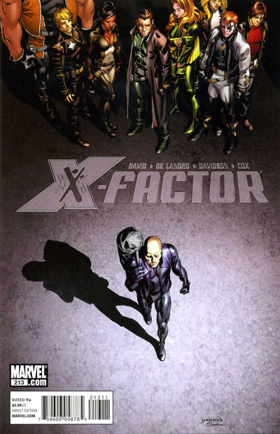 Cover for X-Factor (Marvel, 2006 series) #213