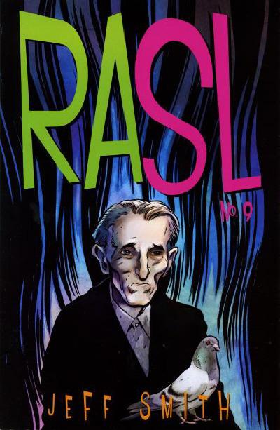Cover for RASL (Cartoon Books, 2008 series) #9