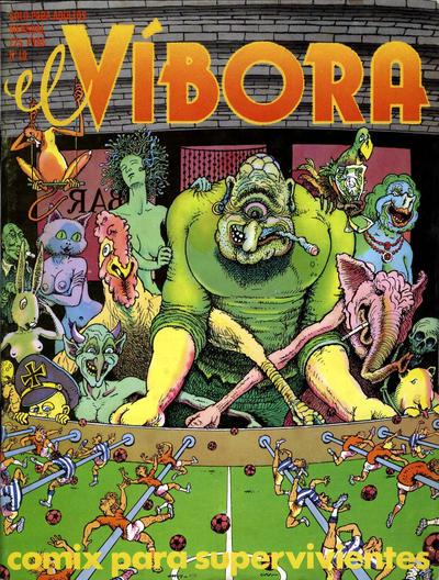 Cover for El Víbora (Ediciones La Cúpula, 1979 series) #19