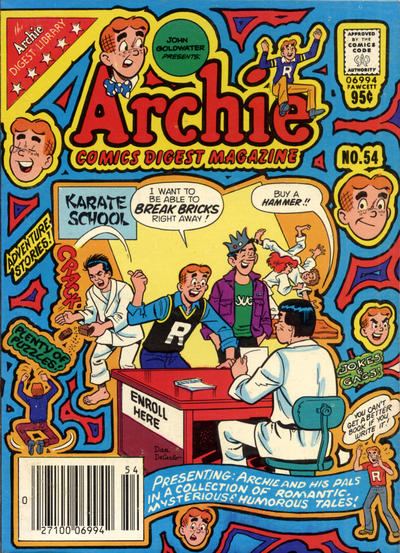 Cover for Archie Comics Digest (Archie, 1973 series) #54