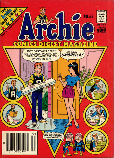 Cover for Archie Comics Digest (Archie, 1973 series) #55