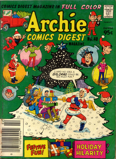 Cover for Archie Comics Digest (Archie, 1973 series) #40 [Newsstand]