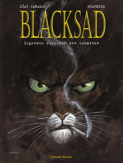 Cover for Blacksad (Carlsen Comics [DE], 2001 series) #1 - Irgendwo zwischen den Schatten
