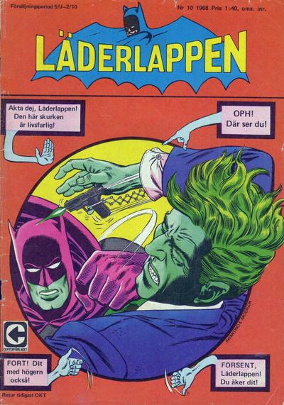 Cover for Läderlappen (Centerförlaget, 1956 series) #10/1968