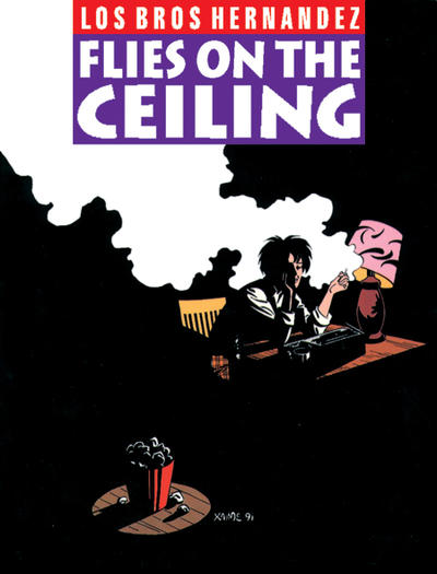 Cover for The Complete Love & Rockets (Fantagraphics, 1985 series) #9 - Flies On the Ceiling [1st Edition]