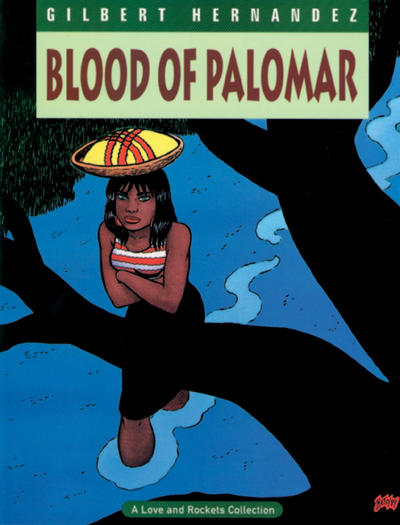 Cover for The Complete Love & Rockets (Fantagraphics, 1985 series) #8 - Blood of Palomar [1st Edition]