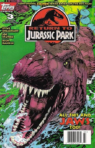 Cover for Return to Jurassic Park (Topps, 1995 series) #3
