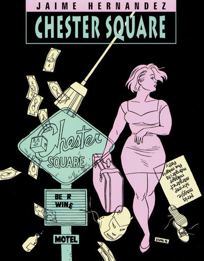 Cover for The Complete Love & Rockets (Fantagraphics, 1985 series) #13 - Chester Square