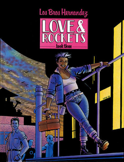Cover for The Complete Love & Rockets (Fantagraphics, 1985 series) #3 [1st Edition]
