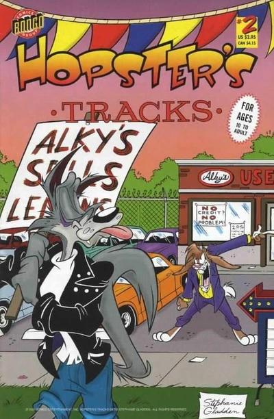 Cover for Hopster's Tracks (Bongo, 1998 series) #2