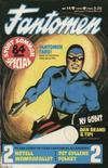 Cover for Fantomen (Semic, 1963 series) #14/1975