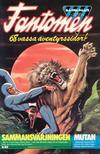 Cover for Fantomen (Semic, 1963 series) #6/1984