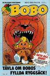 Cover for Bobo (Semic, 1978 series) #10/1984
