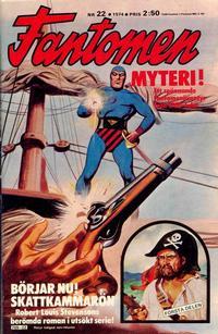 Cover Thumbnail for Fantomen (Semic, 1963 series) #22/1974