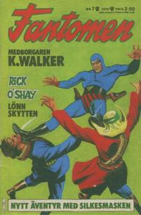 Cover Thumbnail for Fantomen (Semic, 1963 series) #7/1975