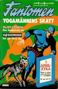 Cover Thumbnail for Fantomen (Semic, 1963 series) #8/1975