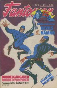 Cover Thumbnail for Fantomen (Semic, 1963 series) #26/1975