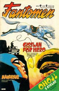 Cover Thumbnail for Fantomen (Semic, 1963 series) #6/1976