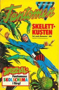 Cover Thumbnail for Fantomen (Semic, 1963 series) #17/1977