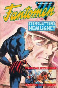 Cover Thumbnail for Fantomen (Semic, 1963 series) #8/1981