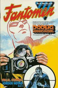 Cover Thumbnail for Fantomen (Semic, 1963 series) #19/1981