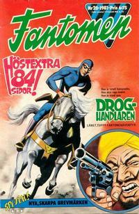 Cover Thumbnail for Fantomen (Semic, 1963 series) #20/1981