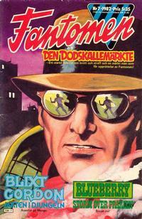 Cover Thumbnail for Fantomen (Semic, 1963 series) #7/1982
