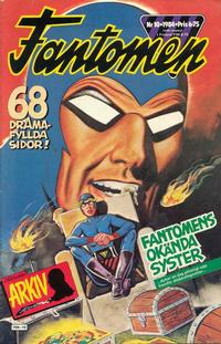 Cover Thumbnail for Fantomen (Semic, 1963 series) #10/1984